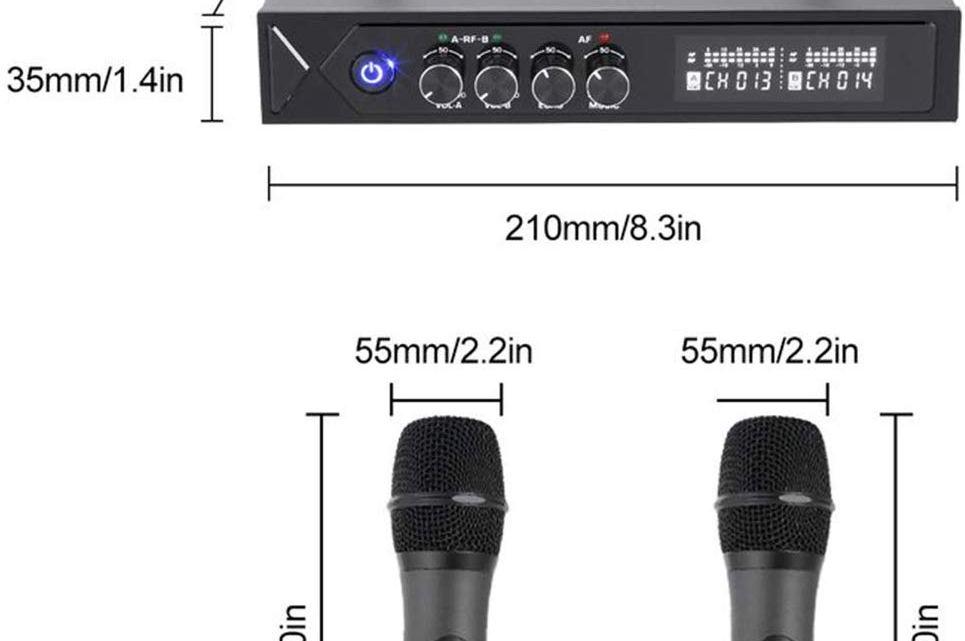 Microfoni Karaoke Wireless su Amazon