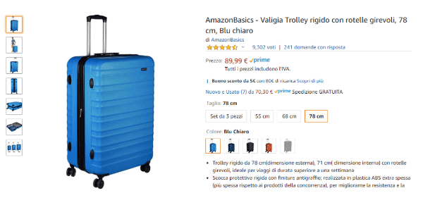 Cos'è Amazon Basics