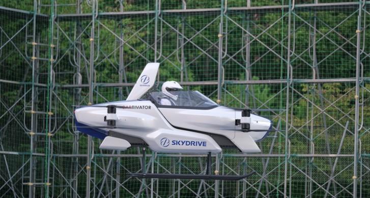 In attivo il primo taxi volante elettrico