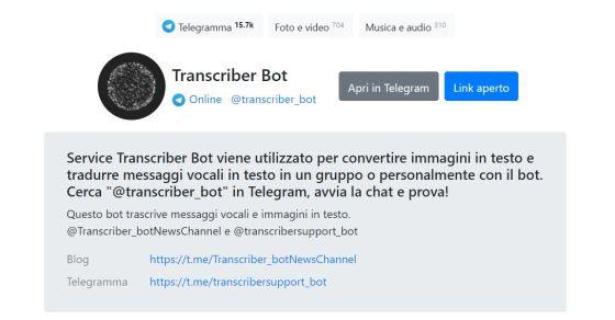telegramma bot commercio di crypto