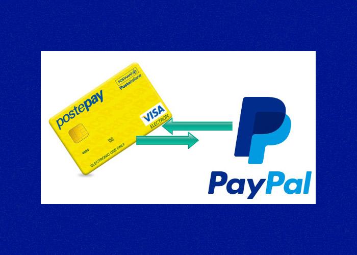 Come ricaricare la carta prepagata PostePay con Paypal
