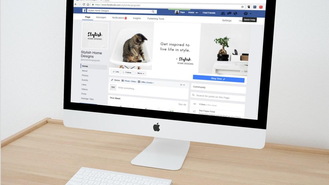 Como alterar o nome da sua página no Facebook?