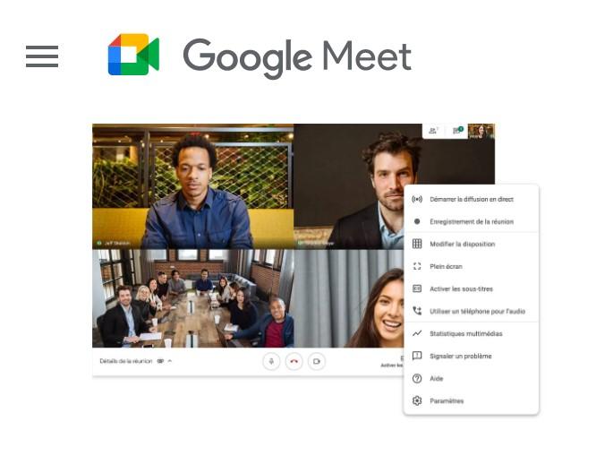 Quel est le nombre maximum de participants à une réunion sur Google Meet ?