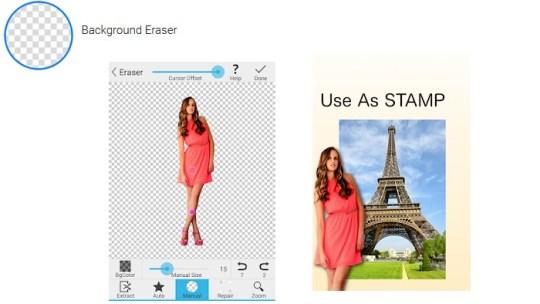 Borra el fondo de tus fotos con Background Eraser