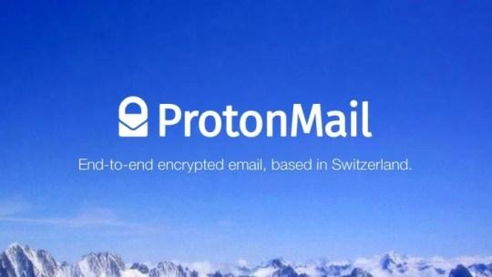 ProtonMail, un servidor de correo con cifrado de datos