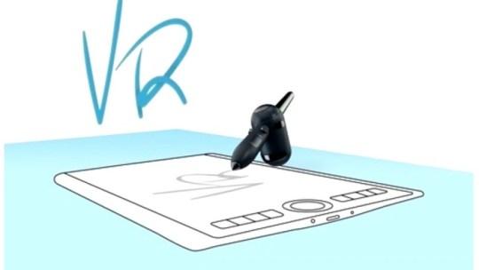 Wacom VR Pen, el lápiz que permite dibujar en espacios 3D virtuales