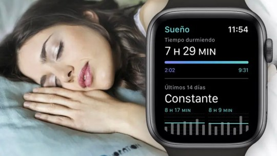 Cómo monitorizar el sueño con el Apple Watch