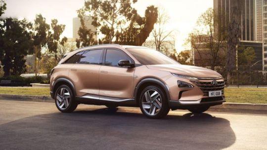 Meet the new Hyundai NEXO, an environmentally friendly vehicle