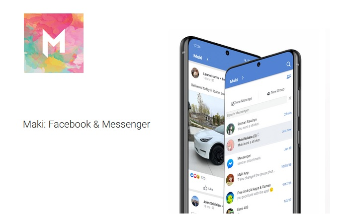 Do you know Maki, the app of Facebook and Messenger?