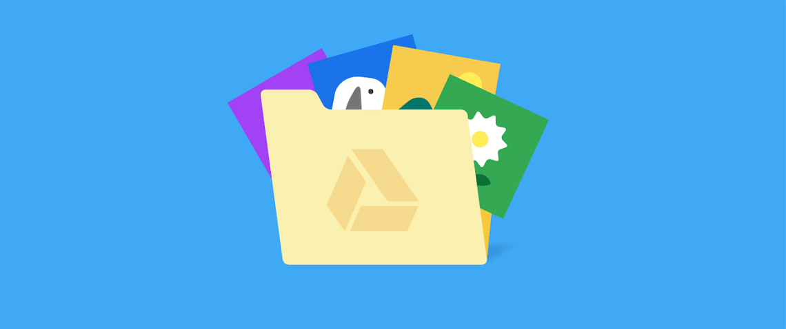 How to display images from Google Drive on a website