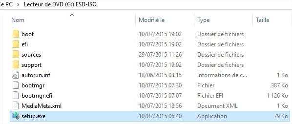 Windows 10 - Execution setup.exe