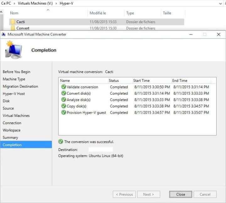 Microsoft Virtual Machine Converter - Image 14