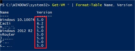 Hyper-V Upgrade VM version - Check_version