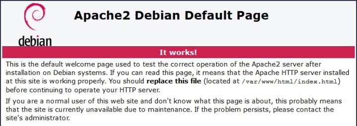 SPLASH_[TUTO] - Installer MySQL Apache et Webmin sur Debian08