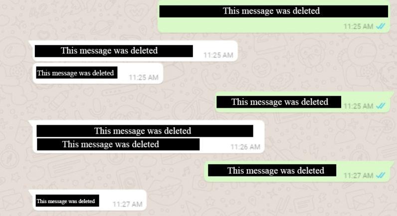 whatsapp 796x433 - أخيرا بعد طول انتظار، واتس آب تبدأ بتفعيل ميزة حذف الرسائل بعد إرسالها