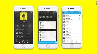 صورة Get to know new features and SnapChat new design after its biggest update ever