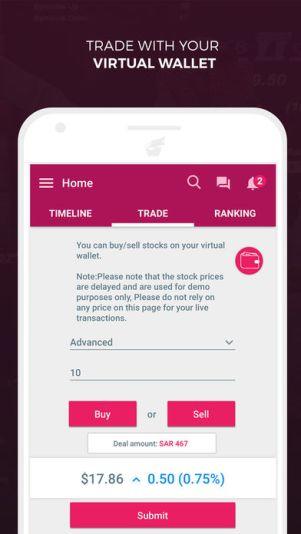 3 8 - تطبيق تريدرTridder يعتبر أكبر شبكة اجتماعية مختصة في البورصة السعودية وسوق الفوركس