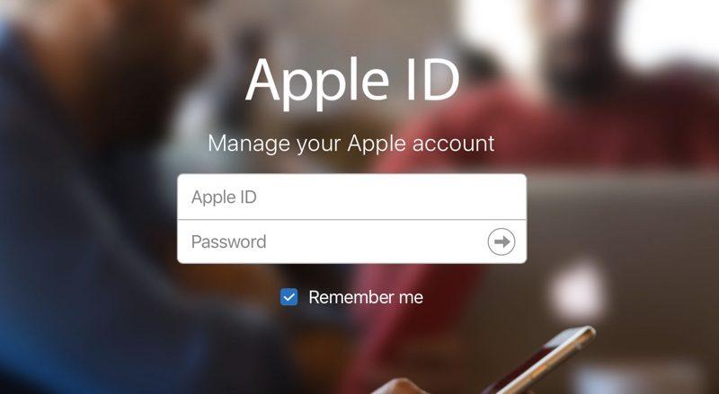 appleid 800x439 - حسابات Apple ID تمكنك الآن من استخدام عنوان بريد إلكتروني بنطاقات @icloud و@me و@mac