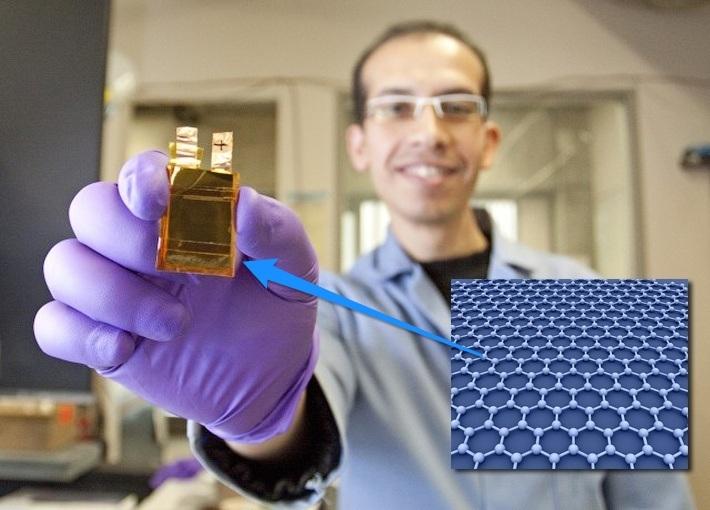 graphene batteries 1 - بطارية جديدة طورها معهد سامسونج للأبحاث من مادة الجرافين تُشحن بالكامل في 12 دقيقة