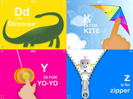 interactive - أفضل 5 تطبيقات لتعليم الأبجدية الإنجليزية والكلمات الإنجليزية للأطفال بطرق ممتعة