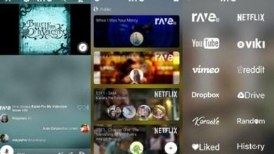Photo of تطبيق Rave لمشاهدة الفيديوهات أثناء التحدث أو الدردشة مع الأصدقاء