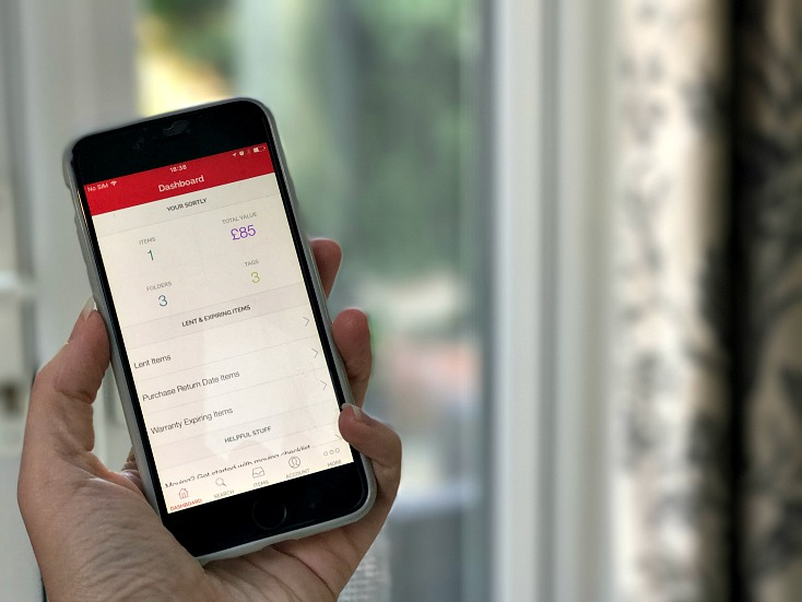 723. Sortly dashboard  - تطبيق Sortly يساعدك في التخلص من الفوضي في منزلك للأندرويد و الآيفون