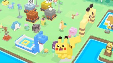 1 لعبة Pokémon Quest 1024x576 - الكشف عن اللعبة الجديدة Pokemon Quest لجوالات الآيفون وآيباد