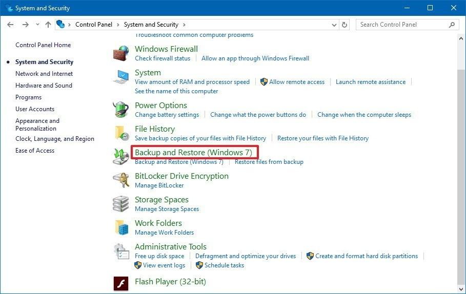 1 - تعرف على كيفية إنشاء نسخة احتياطية من ويندوز 10 للحفاظ على بياناتك، وكيفية استعادتها