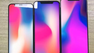 2 لوحات زجاجيّة مُسرّبة تُوضح الفرق بين حجم هواتف iPhone 1024x768 - تسريب لوحات زجاجية توضح الفرق بين حجم جوالات iPhone القادمة هذا العام