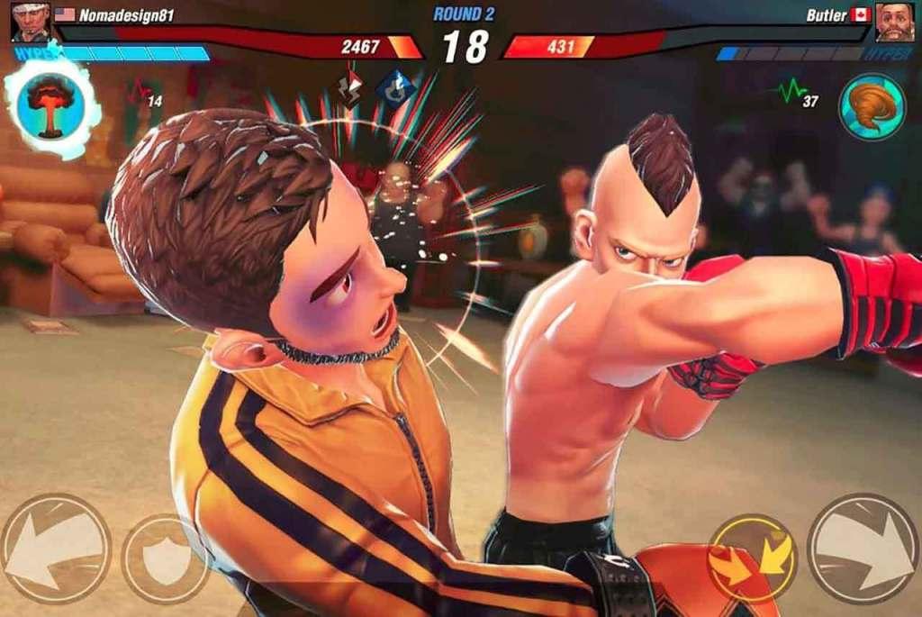 Boxing Star 1024x685 - اللعبة الرائعة الجديدة Boxing Star للملاكمة التفاعلية للآيفون والآيباد