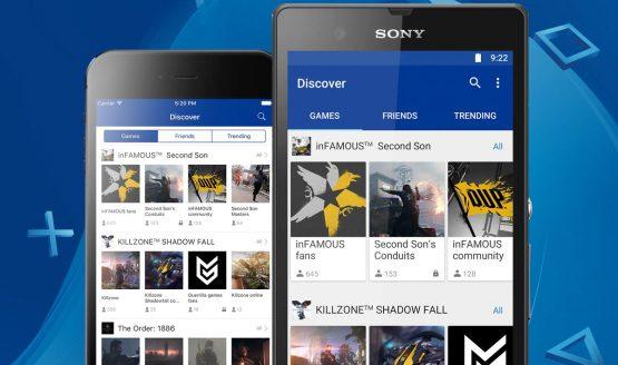 playstation communities app2 555x328 - تطبيق PlayStation Communities للتحدث مع آلاف اللاعبين ذوي الميول المشتركة معك