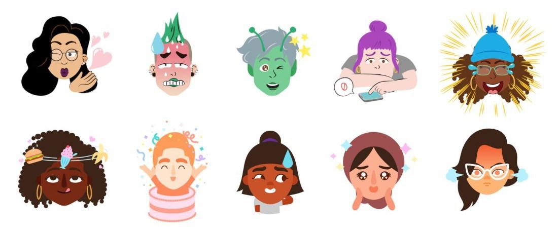 gboard mini stickers - تحديث جديد بلوحة مفاتيح جوجل يمكنك من تحويل وجهك إلى إيموجي يشبهك