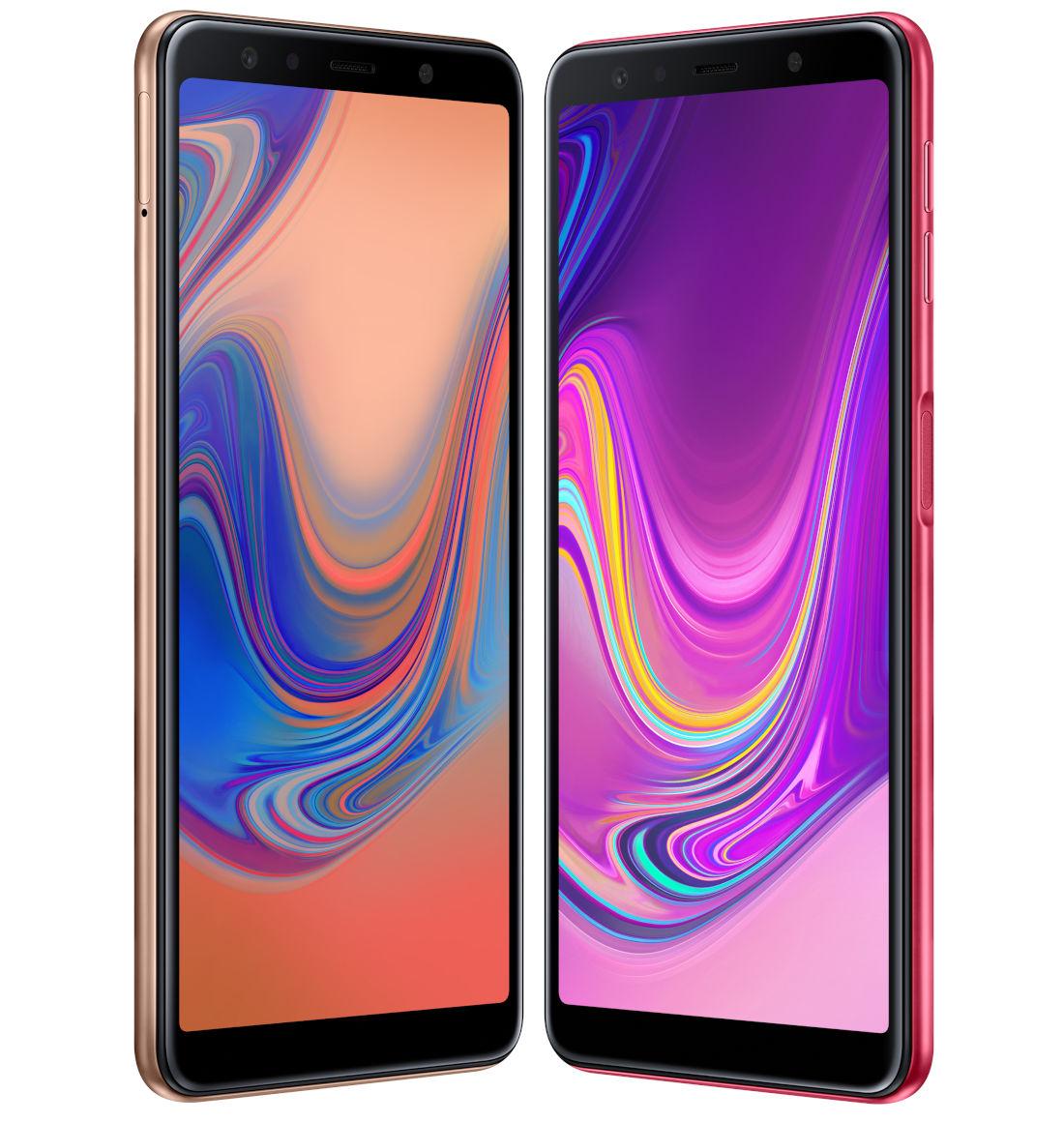 1 8 - سامسونج تكشف رسميًا عن جوال Galaxy A7 بثلاث كاميرات ومزايا أخرى عديدة