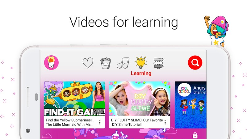 3.webp 1 - تطبيق يوتيوب كيدز Youtube Kids - النسخة المخصصة للأطفال من تطبيق اليوتيوب الشهير