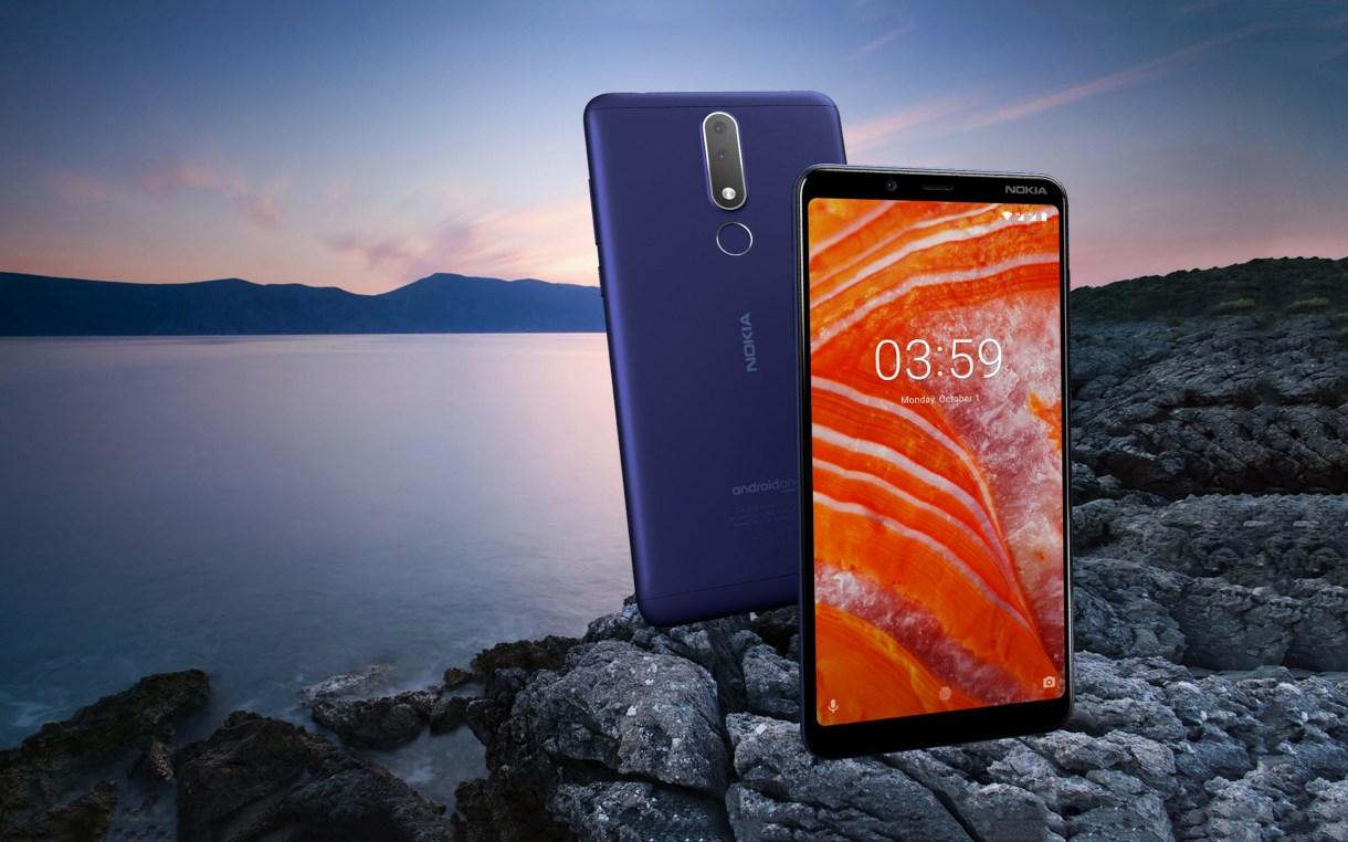 1 12 - شركة HMD Global تزيح الستار رسمياً عن هاتف Nokia 3.1 Plus مع شاشة بحجم 6 إنش