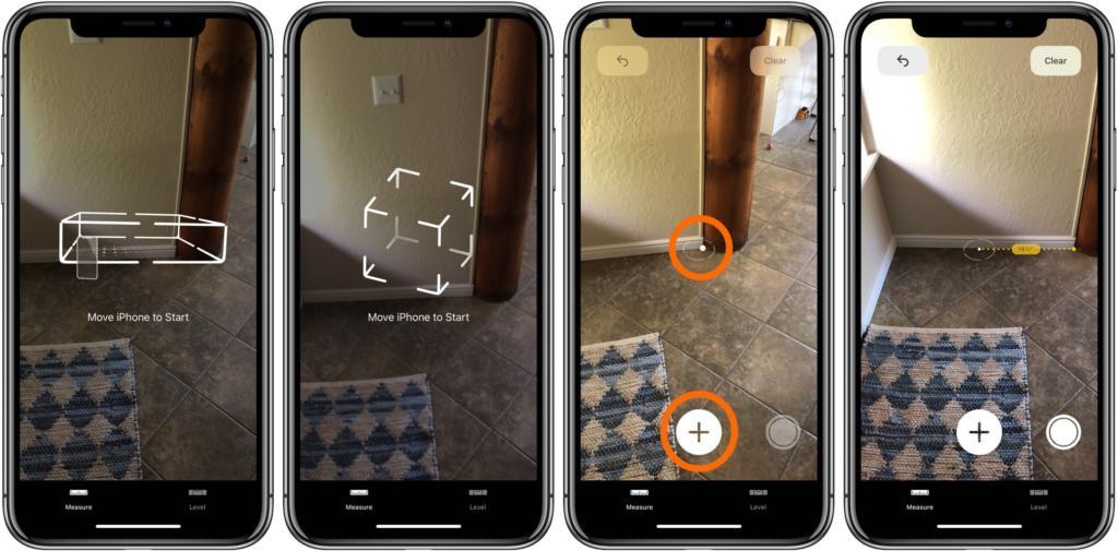 1 - تطبيق Measure أفضل أداة للقياس باستخدام تقنية الواقع المعزز بواسطة جوالك