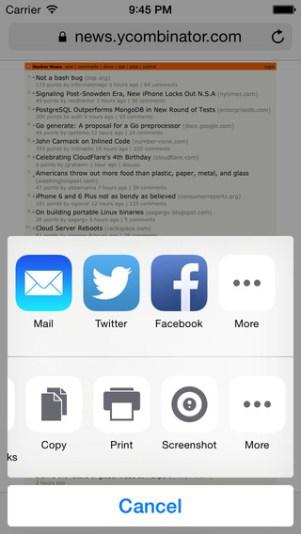2 - تطبيق Awesome Screenshot for Safari لتصوير صفحات الانترنت بشكل كامل
