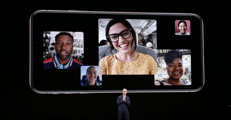 iOS 12.1 1170x610 - مؤتمر آبل: إطلاق تحديث iOS 12.1 لدعم مكالمات الفيديو الجماعية في FaceTime