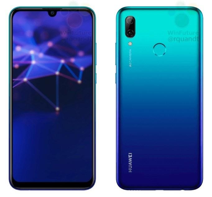1366 2000 - تسريبات جديدة لهاتف Huawei P Smart 2019 تكشف عن تصميمه ومواصفاته