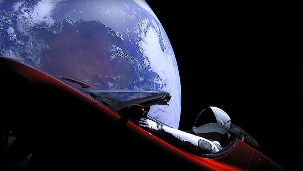 6488 f - تعرف على آخر أخبار سيارة تيسلا رودستر التي أطلقتها شركة سبيس اكس للفضاء