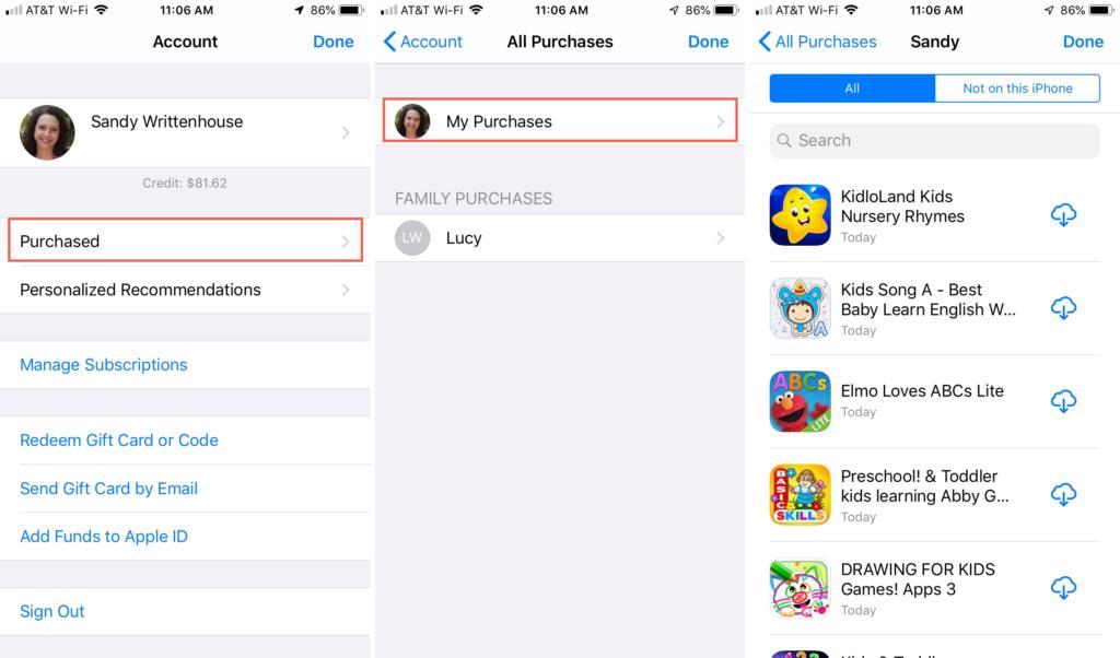 1 تنزيل التطبيقات التي تم شراؤها على نظامي iOS وmacOS 1024x602 - تعرف على كيفية إعادة تحميل التطبيقات التي قمت بشراؤها على نظام iOS