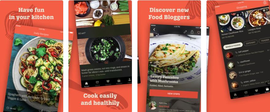 1 6 - تطبيق KptnCook يوفر لك وصفات طعام عديدة لتعلم الطبخ وإعداد وجباتك بسرعة