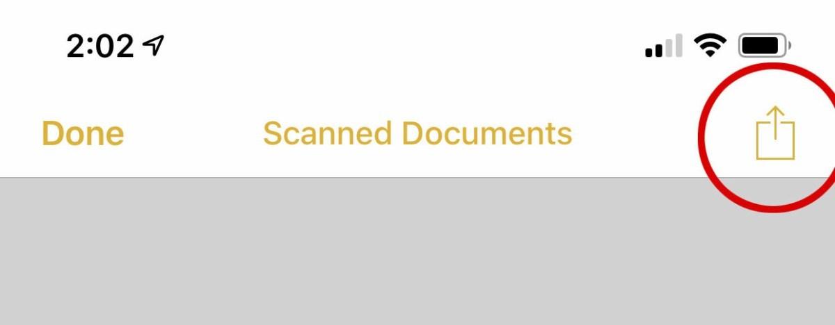 3 2 - بالصور.. تعرف على كيفية إنشاء ملفات PDF بآيفون وآيباد باستخدام  تطبيق الملاحظات