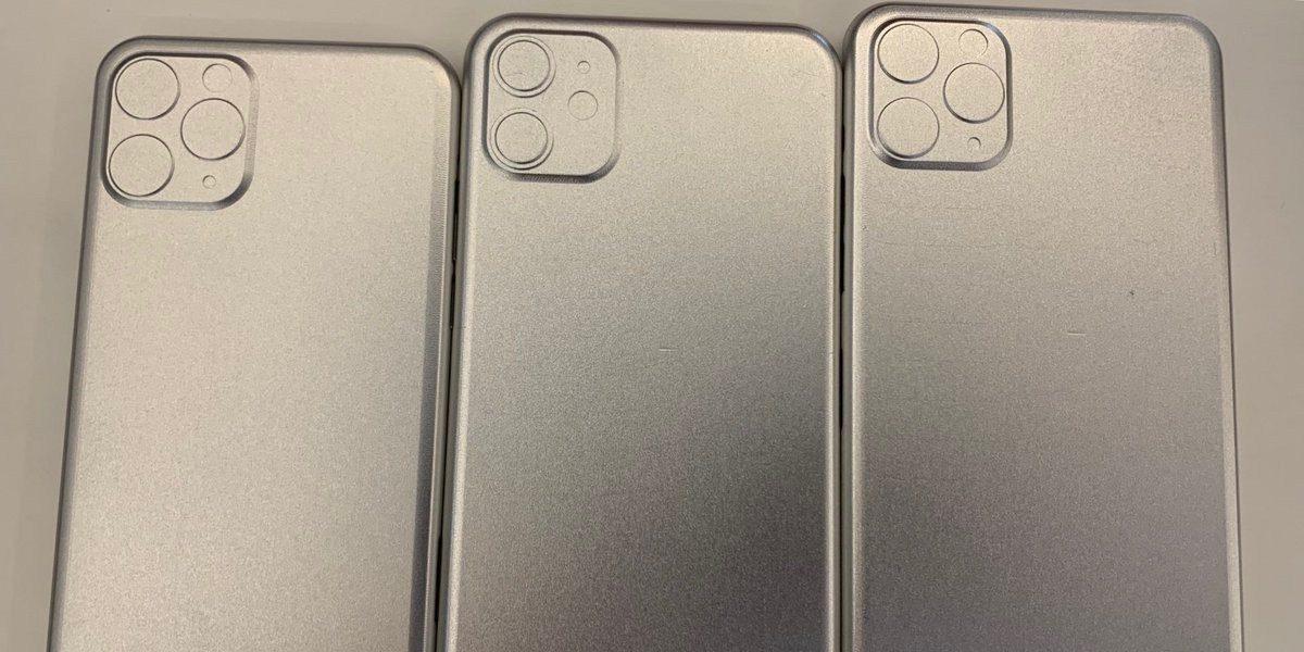 2019 iPhone - بالصور.. تأكيدات جديدة بخصوص تصميم وحدة الكاميرا في جوالات آيفون 2019 القادمة