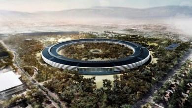 Apple Campus 2 rendering - شاهد مقر آبل الجديد آبل بارك يظهر في فيديو مميز مصور بطائرة درون من أعلى