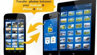 صورة تطبيق Photo Transfer App تنقل كل الصور والفيديوهات دفعه وحده من جهاز لجهاز