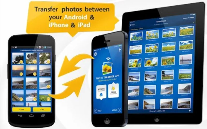 unnamed - تطبيق Photo Transfer App تنقل كل الصور والفيديوهات دفعه وحده من جهاز لجهاز