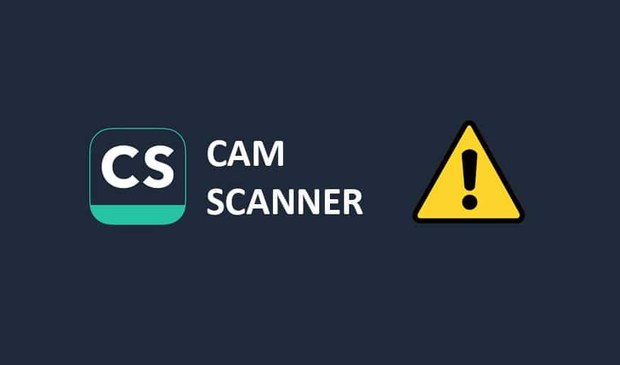 camscanner android malware - اكتشاف برمجية ضارة خطيرة في تطبيق تم تحميلة أكثر من 100 مليون مرة!