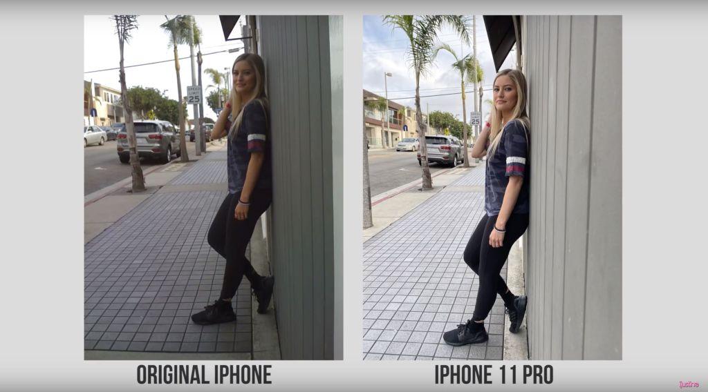 1 كاميرا iPhone 11 Pro Max وiPhone الأصلي - بالصور والفيديو.. مقارنة بين كاميرا جوال آيفون 11 برو ماكس وجوال آيفون الآول