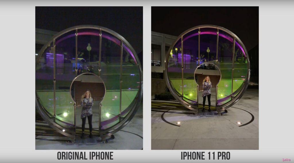 2 كاميرا iPhone 11 Pro Max وiPhone الأصلي - بالصور والفيديو.. مقارنة بين كاميرا جوال آيفون 11 برو ماكس وجوال آيفون الآول